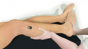 Posizione delle mani durante il pivot shift test standardizzato